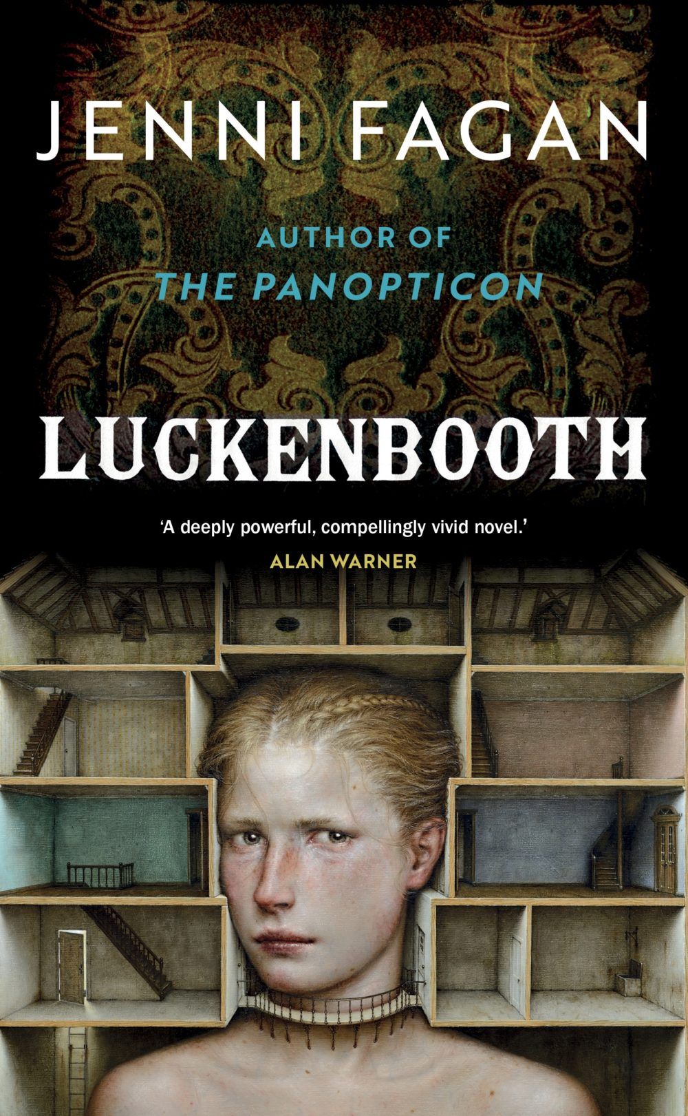 Luckenbooth cover